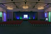 Figure: Full flexibility: partitioned conference area in Hall 2