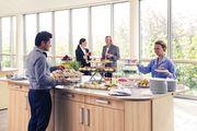 Abbildung: Kulinarische Angebote des Kongresszentrums Westfalenhallen.